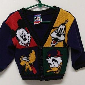VINTAGE Boys 2T Walt Disney Sweater